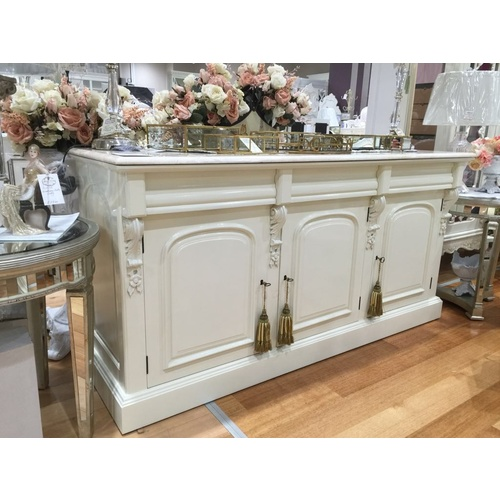 Valence Chiffonier with Marble Top