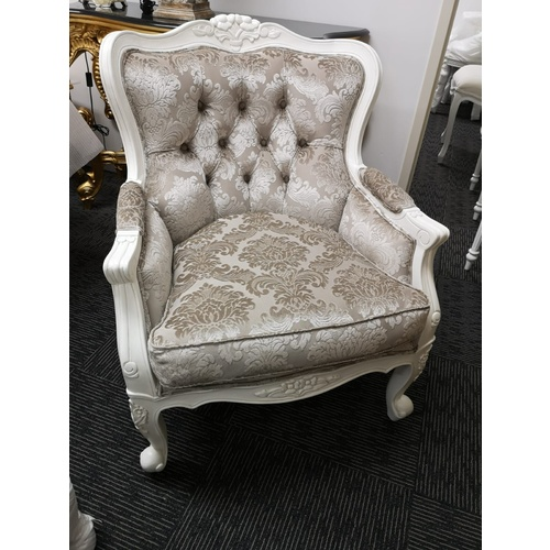 Angelique Wing Chair - Double Cushion