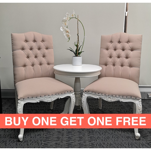 Charlotte Dining Chair - 2 For 1 SPECIAL
