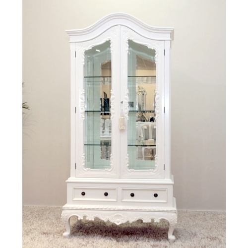 Belle 2 Door Display Cabinet
